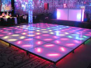 Video P10.4 Full Color LED Floor para Stage
