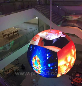 P4.8 Dynamic LED Mira Ball para publicidad en interiores