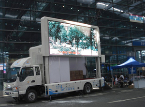 P8 Full Color Vehicles LED para publicidad exterior