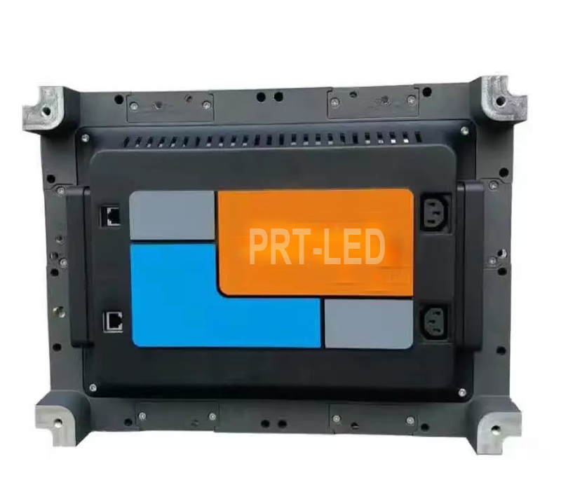 Panel de pantalla LED a todo color para interiores P1.923 fundido a presión con acceso frontal