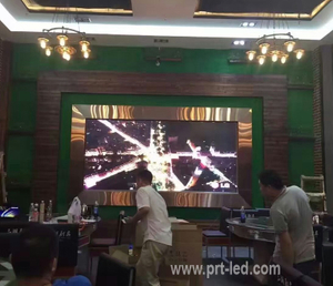 P3.91 Alquiler de interiores LED Video Wall para bodas / banquetes / fiestas (500 * 500 mm)